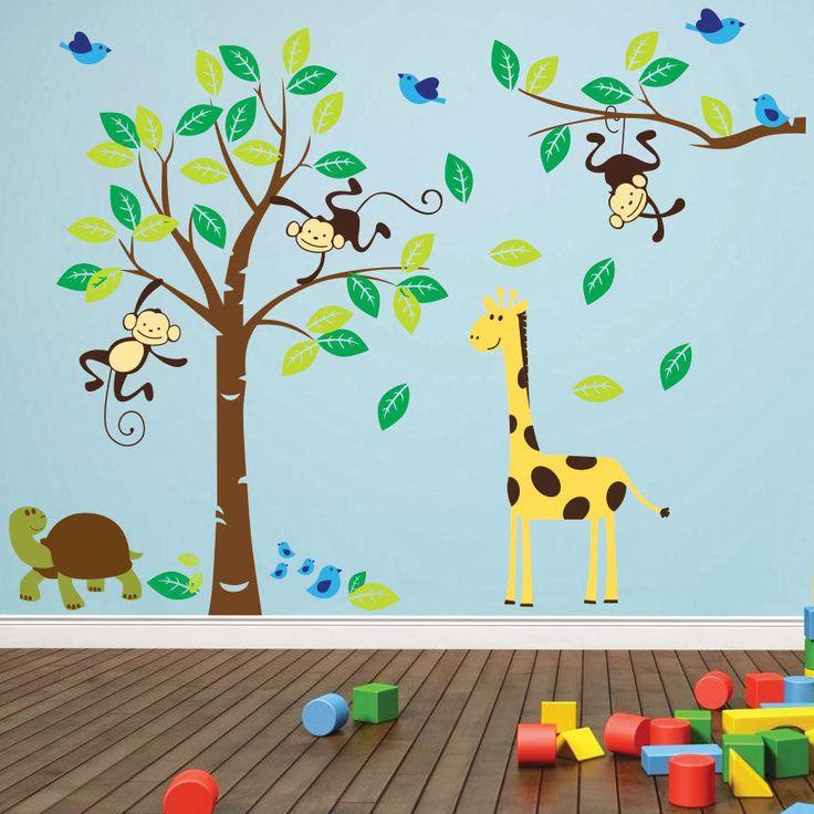 12 best Jungle nursery decor images on Pinterest