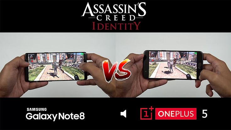 Samsung Note 8 vs OnePlus 5 Gaming Performance!
