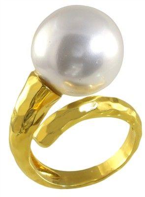 Δαχτυλίδι  Επιχρυσωμένο Πέρλα