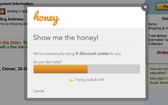 새로운 비지니스:할인쿠폰을 자동으로 검색해서 적용하는 HONEY 웹어플리케이션.