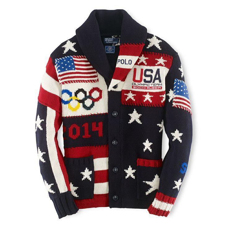 Soyez le premier à porter un morceau de l'histoire américaine : la totalité du prix d'achat de ce cardigan édition limitée Team USA sera reversée au Comité olympique des États-Unis, un organisme qui soutient nos meilleurs athlètes nationaux. Pour plus d'informations, rendez-vous sur le site Teamusa.org
