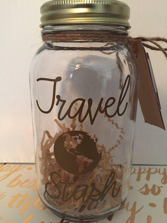 Vacation Fund Jar Mason Jar Money Jar Treasure Jar Memory Etsy In 2020 Vacation Fund Jar Money Jars Mason Jars