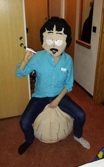 Damn I wish I would have thought of this for Halloween this year! Stan Marsh and his bouncing balls!! LOL