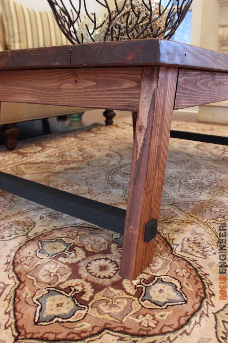 Angled Leg Coffee Table Coffee Table Plans Coffee Table Diy Plans