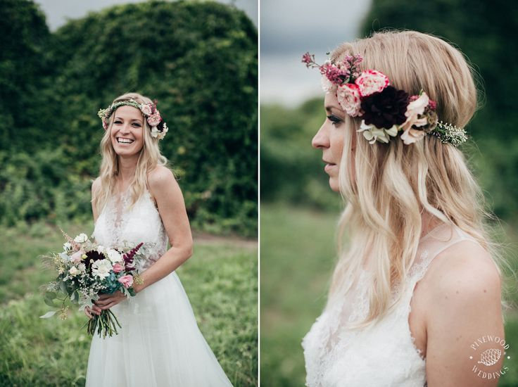bohemian autumn wedding / dahlia