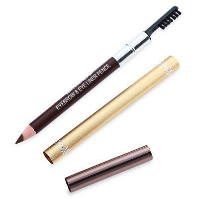 Double Head Waterproof Long Lasting Eyebrow Pen with Brush ...