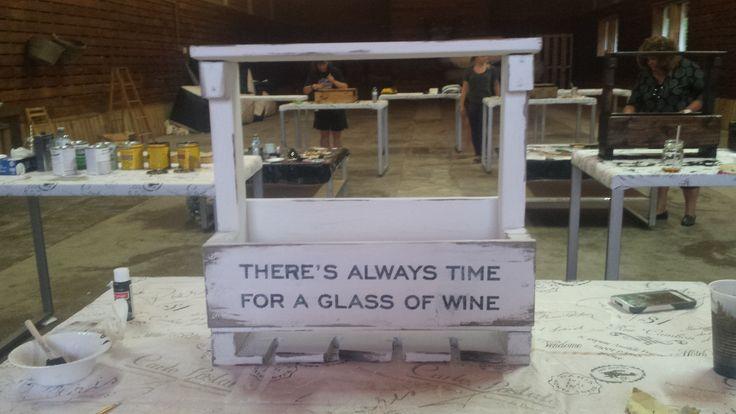 Wine Rack Workshop