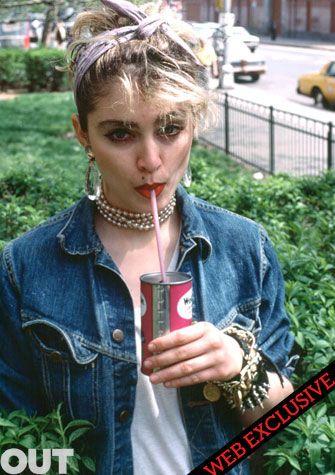Madonna : des clichés inédits de la star à ses débuts