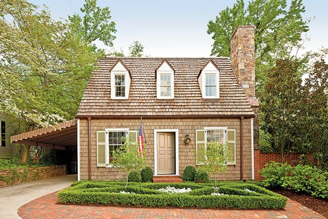 Randolph Cottage (SL 1861) Image: Southern Living House Plans Architect: Bill Ingram