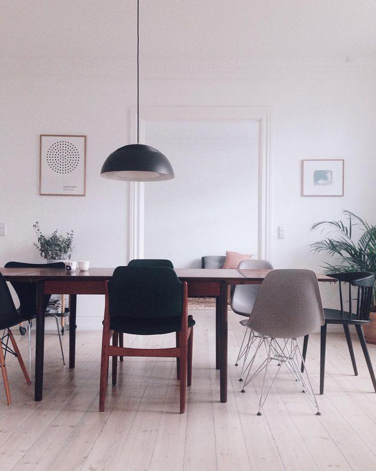 Ink study by Johannes Holt-Iversen in Interior Setting in Copenhagen