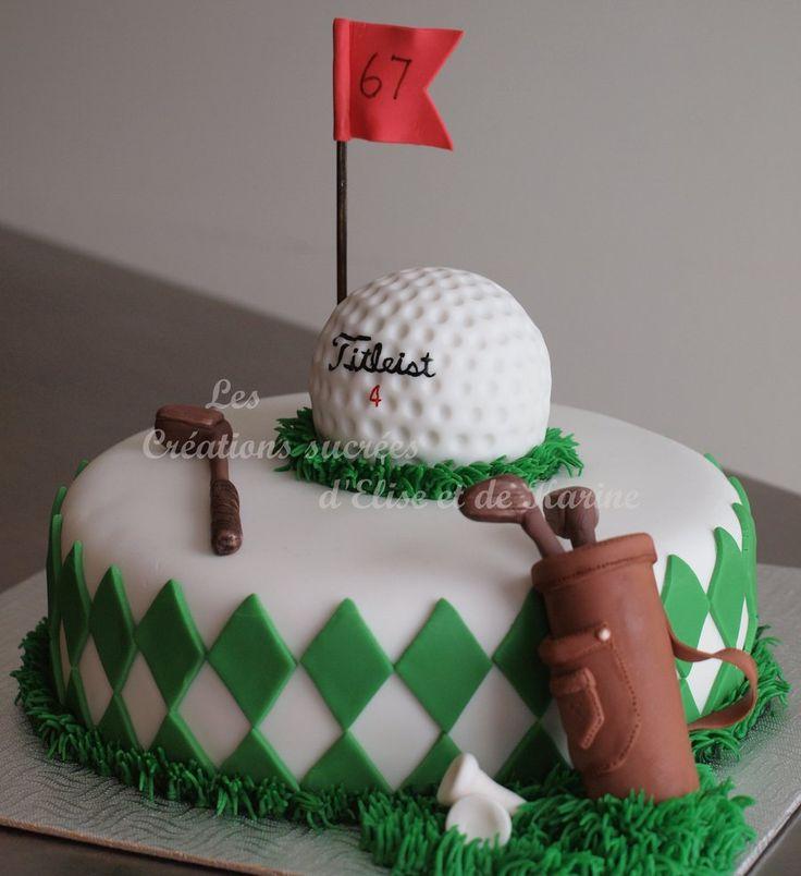 Golf Theme Golf cake