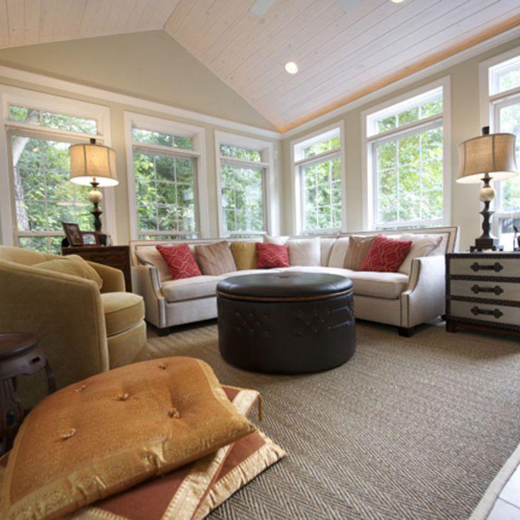 Best 25 sunroom decorating ideas on pinterest sun room for Living room addition ideas