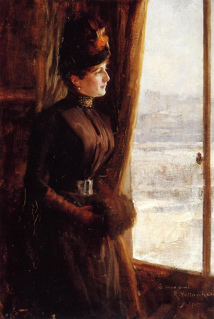 Retrato de Madame Vallery-Radot,1888