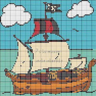 ENCANTOS EM PONTO CRUZ: Navios Piratas