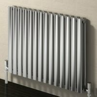 Reina Nerox Double Stainless Steel Radiators - Polished / Satin