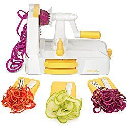 Tri-Blade Vegetable Slicer Veggie Cutter Spiralizer - Amazon * HOT * Sales Pick - http://wp.me/p56Eop-Pmc