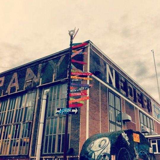 IJ-Hallen - Lasloods i Amsterdam, Noord-Holland