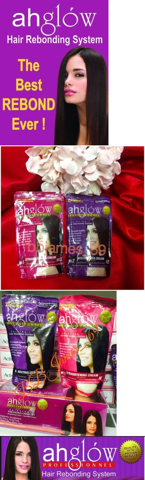 Straight perm winnipeg - Other Hair Care And Styling Ahglow Hair Straight Rebonding Cream Set Permanent Straightener W Keratin