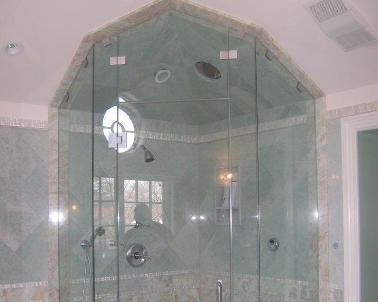Die besten 25+ Tub enclosures Ideen auf Pinterest Whirlpool - glastür badezimmer blickdicht