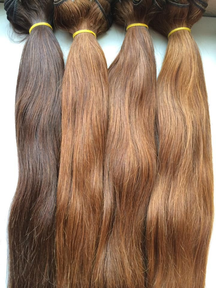 Vietnam hair single drawn is the best selling hair which have some short hair. Human hair extensions will be very popular in the market
