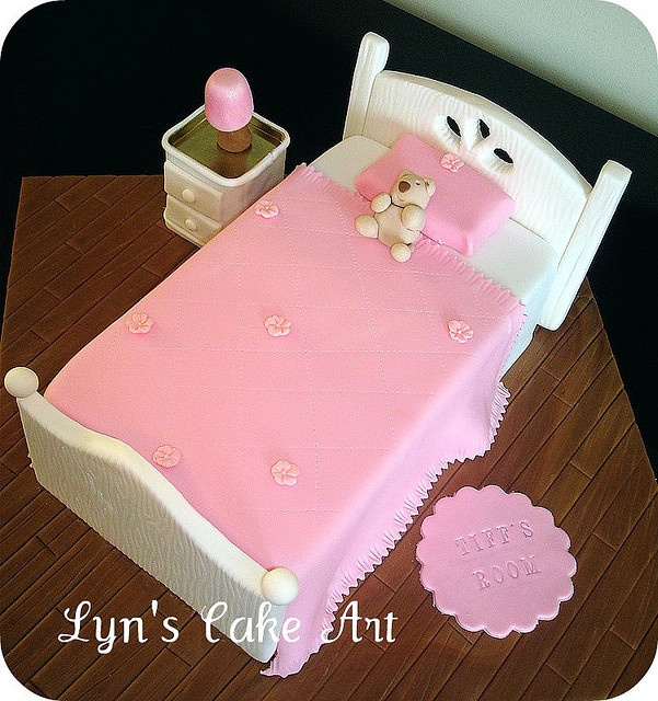 bed cake...too cute!