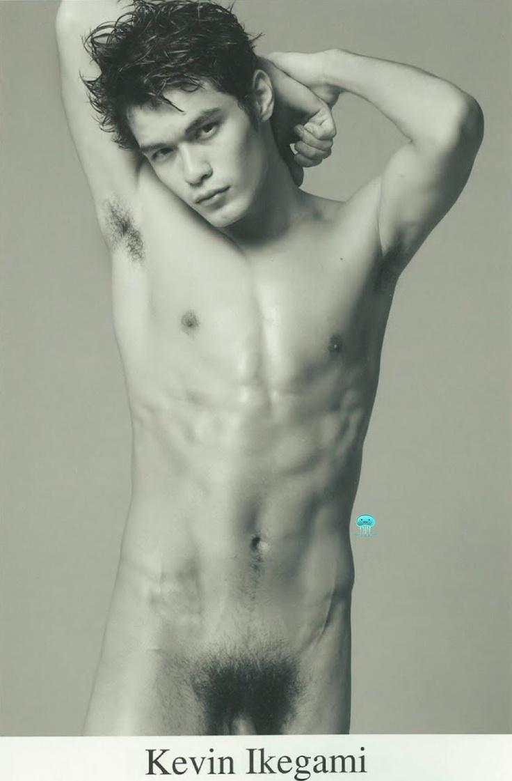 レスリーキー男性モデル