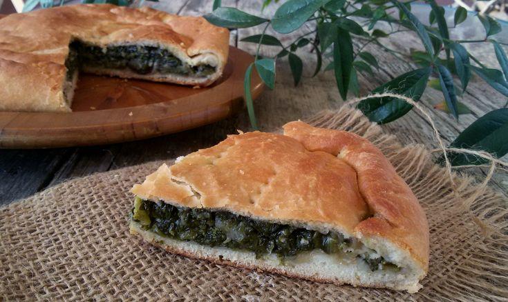 La Pizza con l'erbaappartiene alla tradizione Irpina, viene preparata a ridosso di Pasqua per essere mangiata il venerdì santo....