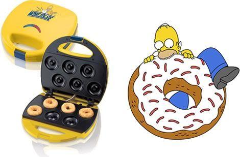 Máquina de Rosquinhas dos Simpsons Comunicadores. mmmmmm