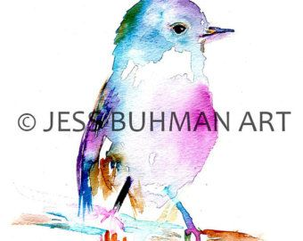 Ruby de kolibrie door Jessica Buhman  8 x 10 afdrukken van originele aquarel op helder wit, zware kaart voorraad papier. Zal worden verscheept snel en veilig. Gelieve bericht met eventuele speciale instructies of vragen.  Thanks so much voor de tijd neemt om te kijken naar mijn winkel. Aarzel niet om de message, al was het alleen maar om hallo te zeggen!  Groeten, Jess