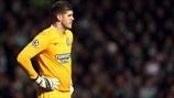 Celtic 0-3 Juventus | El portero del Celtic Fraser Forster muestra su decepción tras encajar el primer gol. [12.02.13]