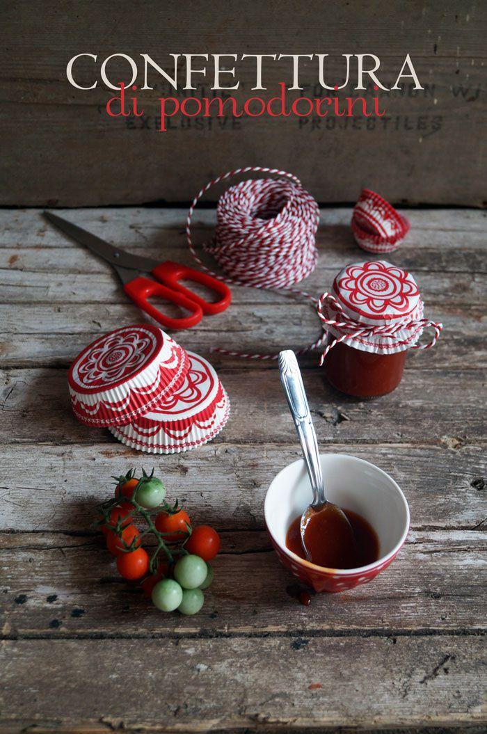 Confettura di pomodorini - tomato jam
