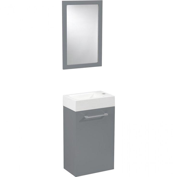 Amazing Meuble De Wc Ikea #10: Lave-Main, Meuble Et Sèche-Mains - Wc, Abattant Et Lave-