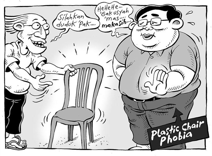 Mice Cartoon, Kompas - 27 September 2015: Plastic Chair Phobia