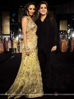 Light Yellow Multy Work Net Bollywood Designer Saree By Thankar Bollywood Sarees