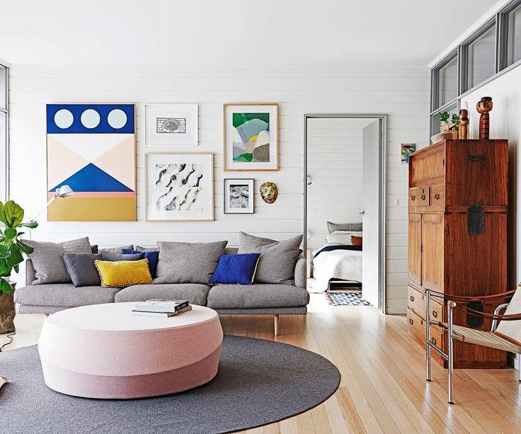 1960s beach house gets a modern facelift