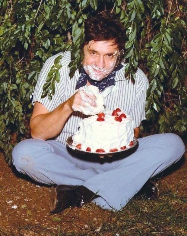 Johnny Cash and Cake - 1970s