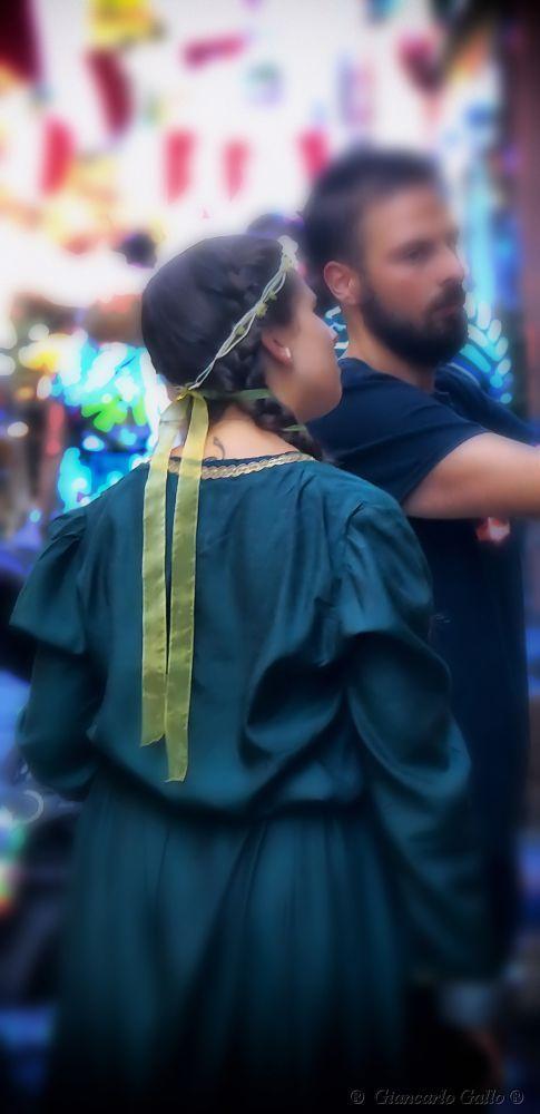 Green ribbon by Giancarlo Gallo