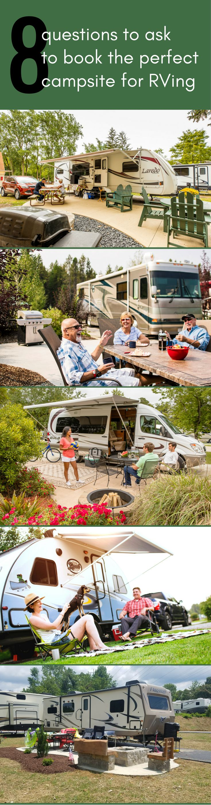Find The Perfect Campsite For Your Next RV Adventure Is Easy With These Tips From Our