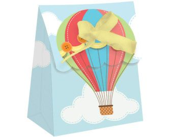 Hot Air Balloon Party Decorations Hot Air by thepartiesthatpop
