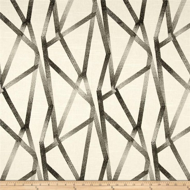 Genevieve Gorder Intersections Steam   Designed by Genevieve Gorder, this medium weight cotton duck features slubs and is screen-printed.
