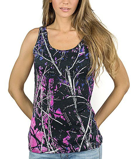 Moon Shine Camo Muddy Girl Full Camo Tank - Plus Too | zulily