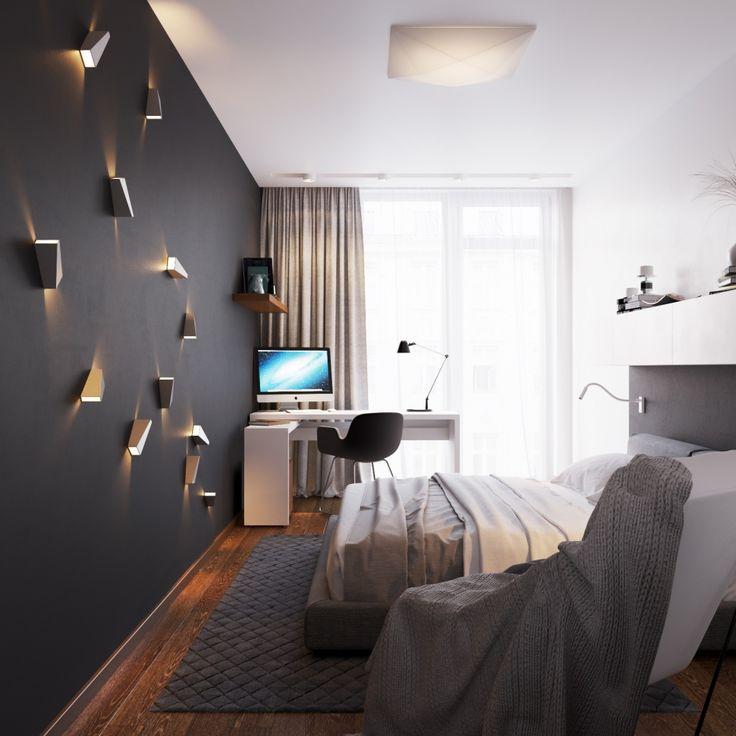 Мужская спальня в Минске. - Галерея 3ddd.ru