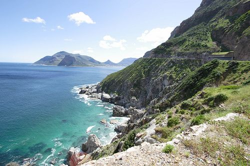 Chapman's Peak drive in Cape Town is regarded as one of the most scenic drives anywhere in the world. http://tinyurl.com/pwbah2n
