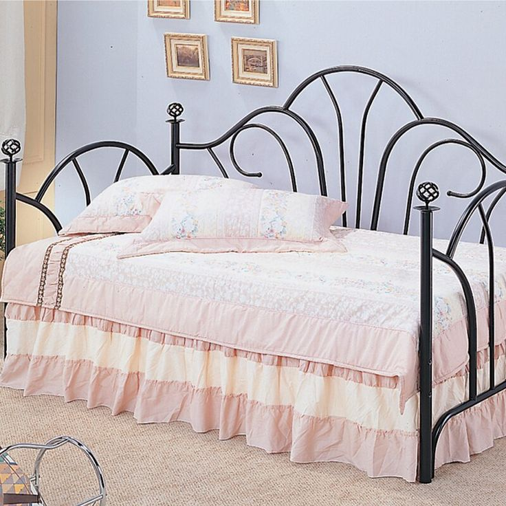 Daybed With Trundles Under 150 Google Search Furniture Metal Daybed Coaster Furniture
