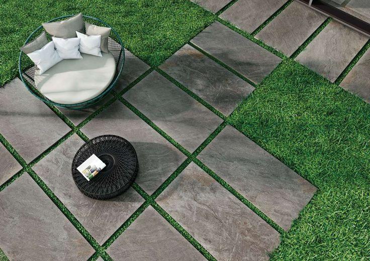 die besten 25 terrassenplatten grau ideen auf pinterest. Black Bedroom Furniture Sets. Home Design Ideas