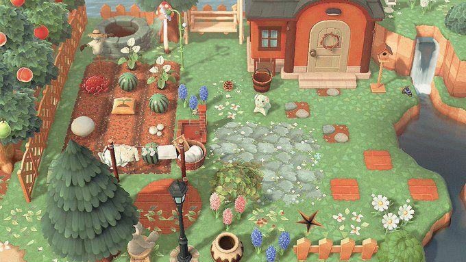 Explore Twitter Animal Crossing Stone Path Brick Path