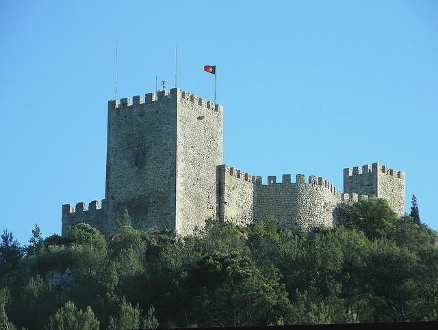 Castelo de Sesimbra/ Sesimbra castle, Portugal by Rosa Gambóias/ , via Flickr