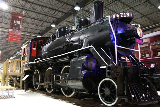 Locomotive GTR 713  #exporail #trains #musée #museum