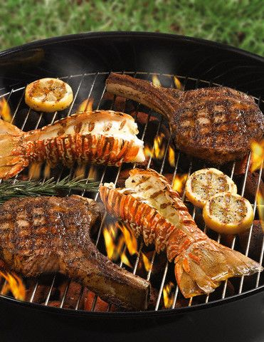 how to cook lobster tails on bbq grill