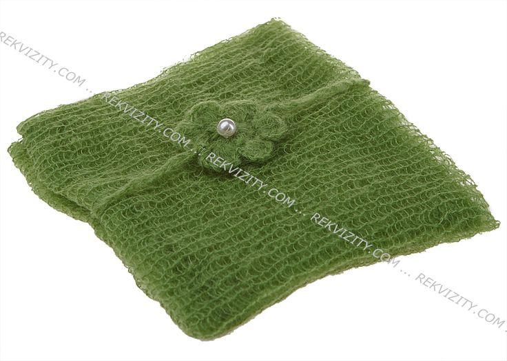 WRAP s čelenkou, zelená